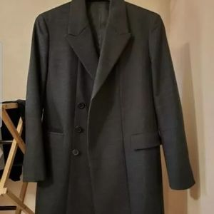 Theory men's cashmere Blend coat